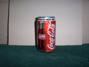 Never Opened 1994 Houston Rocket Coke Can