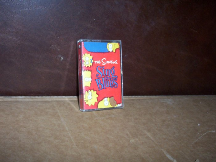 The Simpsons Sing the Blues Cassette Tape