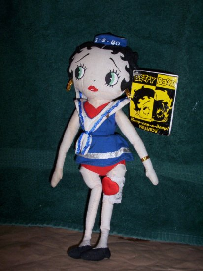 Betty Boop Doll with Tags