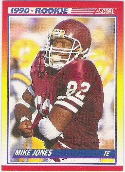 Mike Jones  1990 Rookie Score