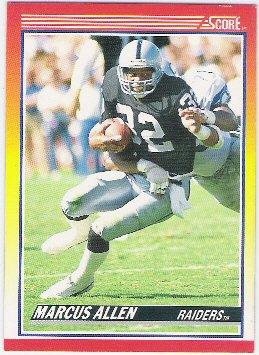 Marcus Allen  1990 Score