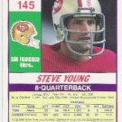 Steve Young  1990 Score 49er QB