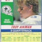 Troy Aikman  1990 Score Cowboy QB