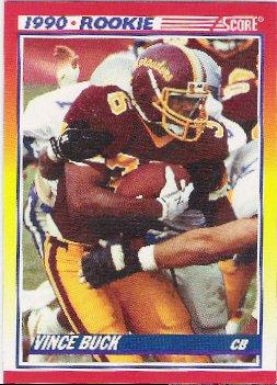 1990 Score Rookie  Vince Buck