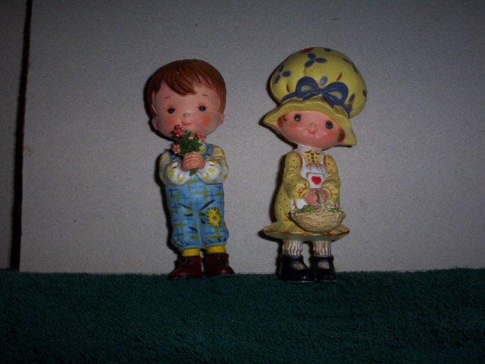 Pair of Holly Hobby Plastic Dolls