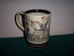 Abstract Vintage Mug