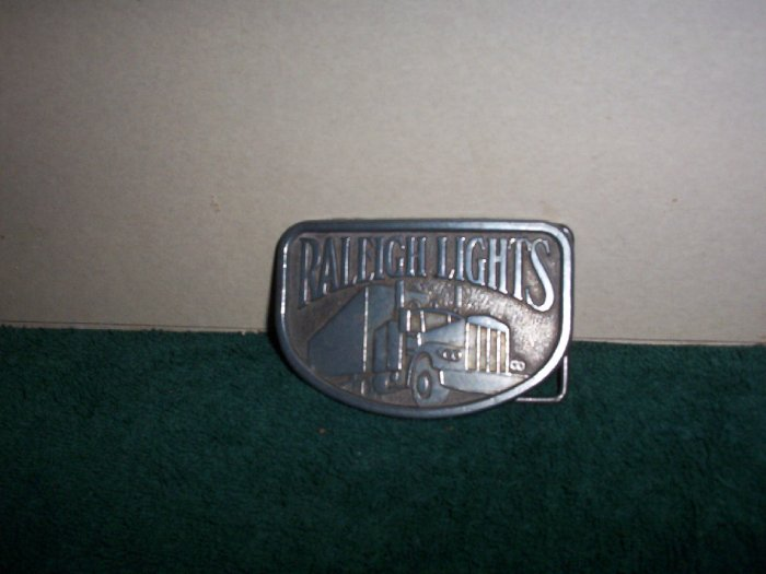 Raleigh Lights Belt Buckle