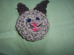 Lil Grey Bunny Catnip Critter