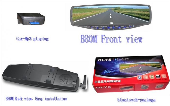 OLYS B80-M car Bluetooth hands-free Products