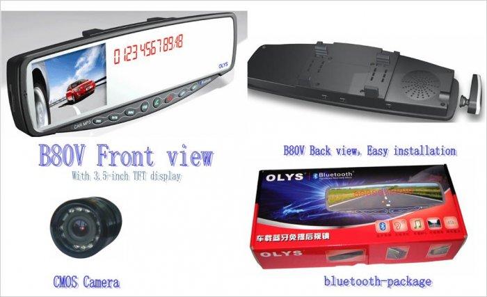 OLYS B80-V car Bluetooth hands-free Products