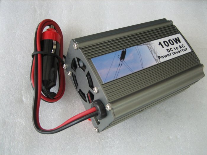 Brand new Mini Car 100W with USB DC to AC Power Inverter