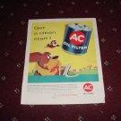 1958 AC Oil Filter ad