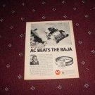 1970 AC Oil Filter ad