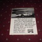 1969 Auto-Lite Spark Plug ad with Mario Andretti