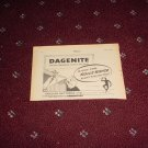 1952 Dagenite Battery ad from the UK