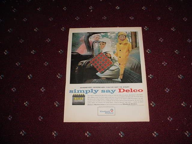 Delco Battery ad #5