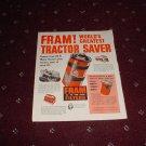 1951 Fram Oil Filter ad #2