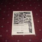 1973 Monroe Shock Absorber ad