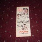 Purolator Oil Filter ad with Andy Devine