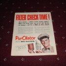 1952 Purolator Oil Filter ad #1