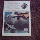 1942 Lockheed P-38 Lightning Aircraft ad