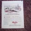 Martin 2-0-2 Transport Aircraft ad #1