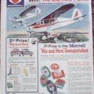 1962 Piper Colt 108 Contest ad for Morell