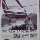 Sabena Airlines ad