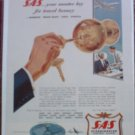 1955 SAS Airlines ad