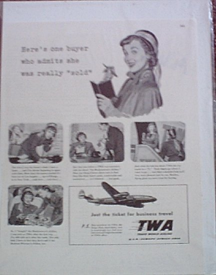 TWA Airlines ad #2