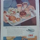 1951 TWA Airlines ad #2