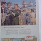 TWA Airlines ad #8