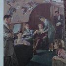 1953 TWA Airlines Constellation ad
