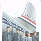 1950 United Airlines ad