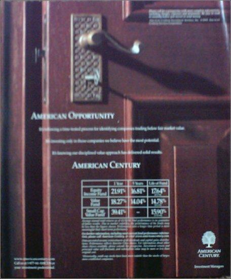 2001 American Century Investment ad