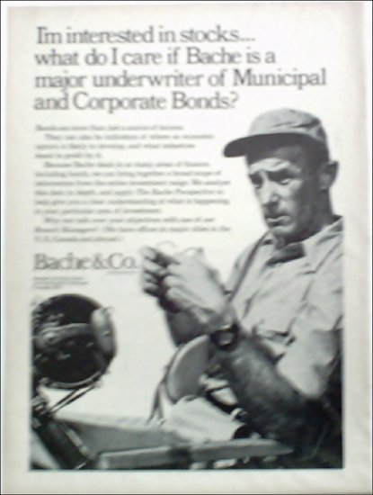 Bache & Co Investment ad