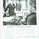 Bank of the Manhattan Company ad
