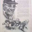 1966 Equitable Life Insurance ad featuring Vince Lombardi