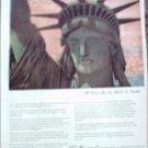John Hancock Life Insurance Lady Liberty ad