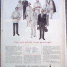 Metropolitan Life Insurance ad #2