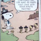 1987 Metropolitan Life Insurance ad featuring Snoopy & Woodstock