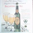 1946 Ballantine Ale ad