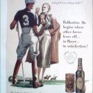 Ballantine Ale Polo ad