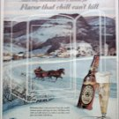 1953 Ballantine Beer ad