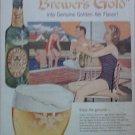 1957 Ballantine Ale Swimmers ad