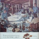 1953 Beer Belongs ad number 59 in series