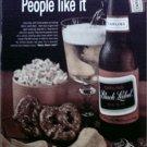 1964 Black Label Beer ad