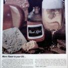 1965 Black Label Beer ad