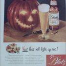 1947 Blatz Beer Halloween ad