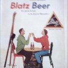 1964 Blatz Beer ad